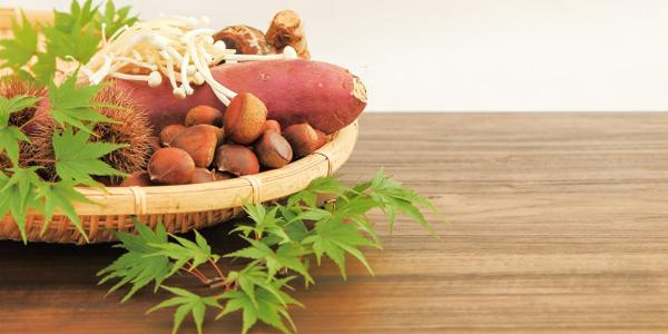 食欲の秋、肌に必要な栄養素は?