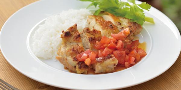鶏肉のジンジャーソテー
